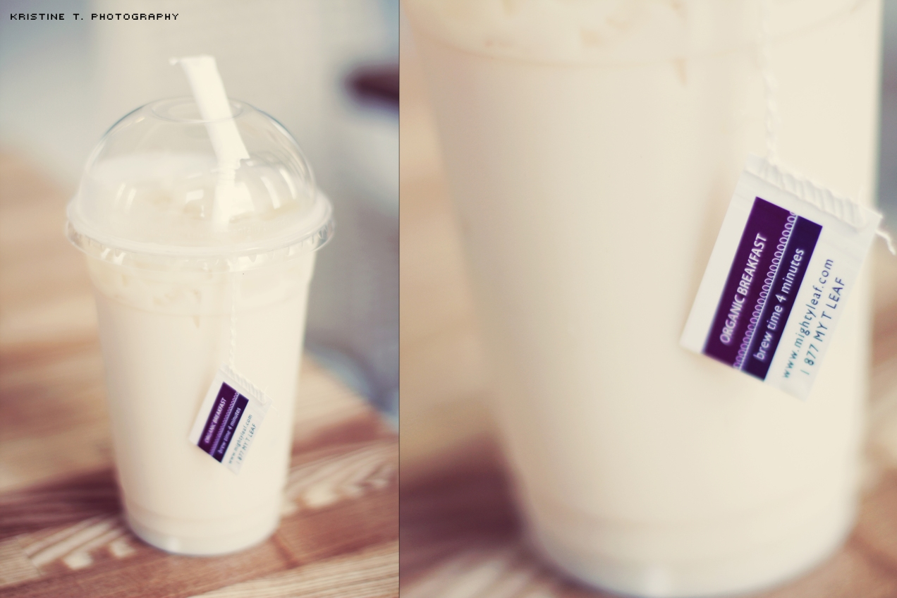 Cafe Days: Honey Vanilla Tea Latte