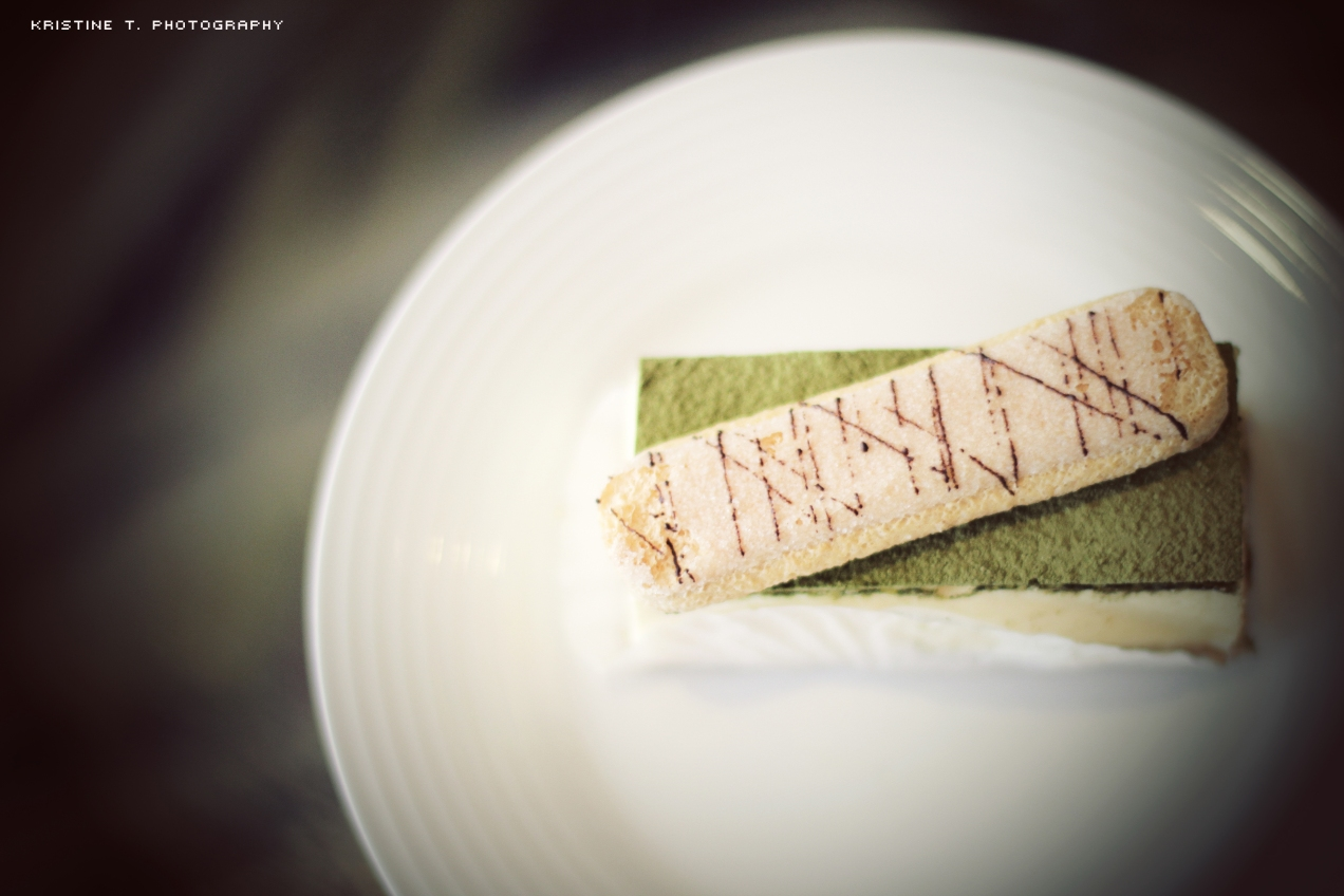 Cafe Days: Green Tea Tiramisu